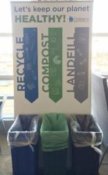 Composting Recycle Landfill Sign
